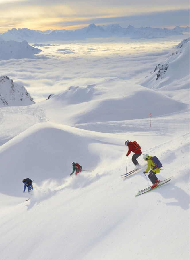 Skiing in St Anton. Luxury ski holidays by Kaluma Ski