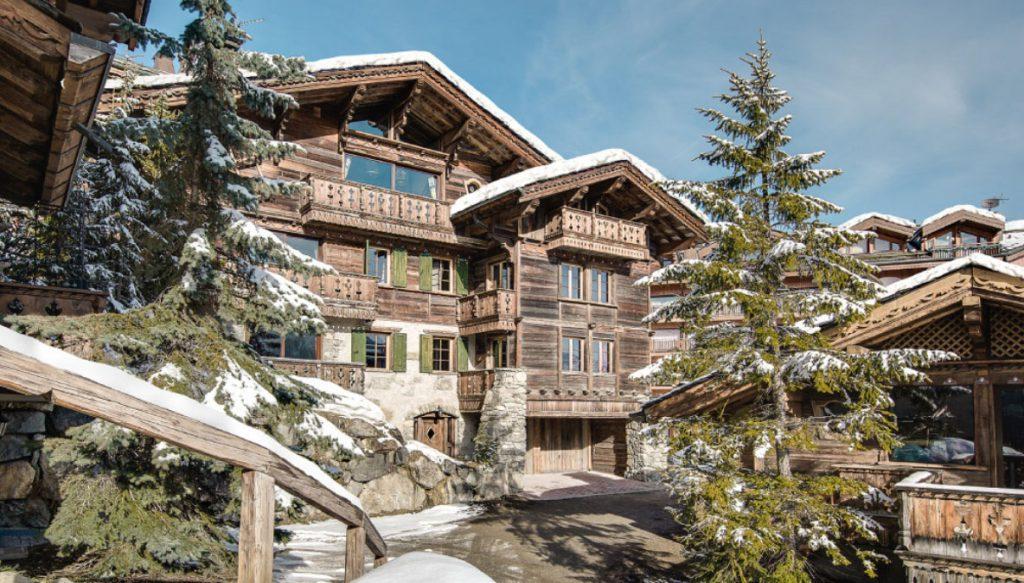 Chalet Vizelle Exterior - Kaluma's first ski chalet as a ski tour operator