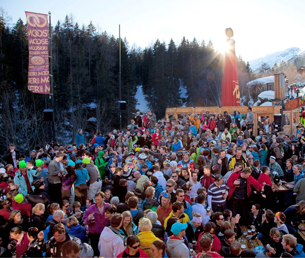 Apres Ski at Mooserwirt, St Anton