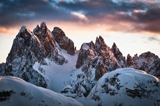 Dolomites Ski Safari Scenery