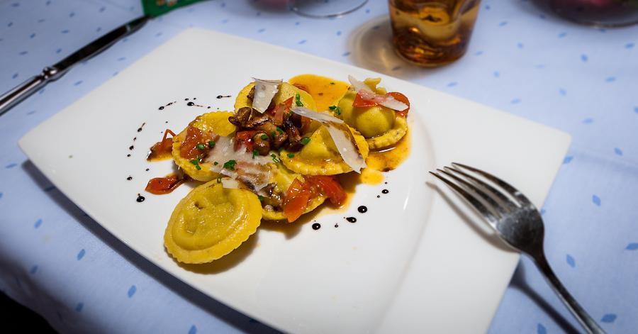 Italian Food - Dolomites Ski Safari