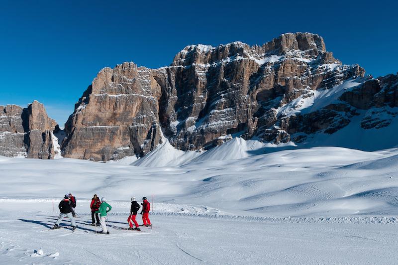Dolomites Ski Safari - Scenery
