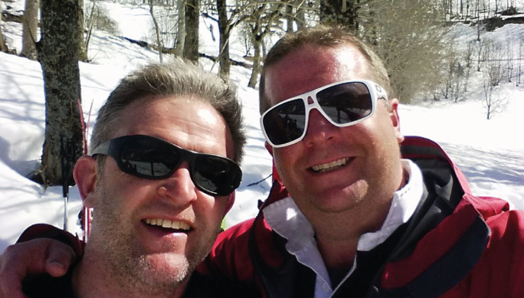 Andy Butterworth & Richard Lumb - Owners of Ski Tour Operator Kaluma Ski