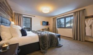 Ariane Bedroom in Chalet Eden Rock, St Anton