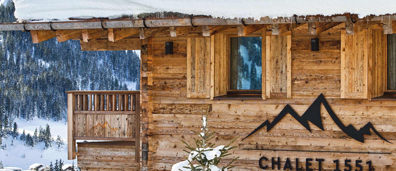 Chalet 1551 Lech Exterior