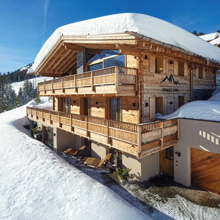 Chalet 1551 Exterior - Ultimate Luxury Ski Chalet in Lech