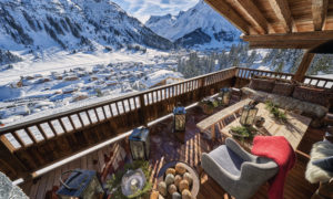 Chalet 1551 Lech Terrace with mountain views