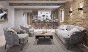 Chalet 47 Bar Area - St Anton Luxury Ski Chalet