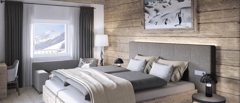 Chalet 47 Bedroom