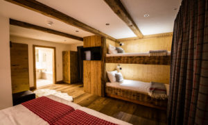 Bunk beds in Chalet 53