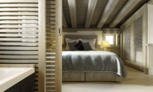 Chalet Black Pearl Bedroom - Luxury Ski Chalet, Val d'Isère