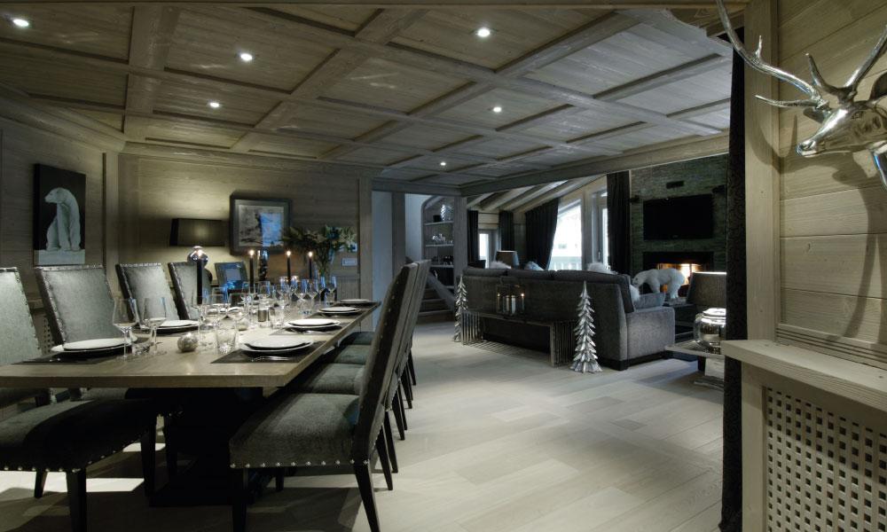 Chalet Black Pearl Dining Room - Luxury Ski Chalet, Val d'Isère