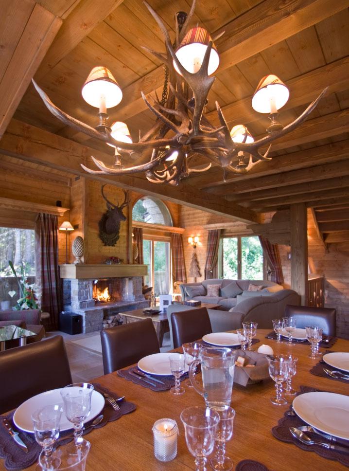 Chalet Chinchilla Dining Room