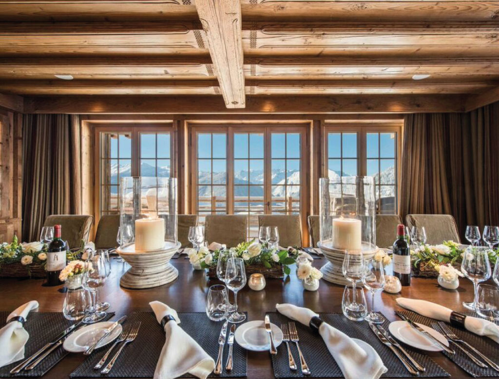 Luxury Catered ski chalet in Verbier