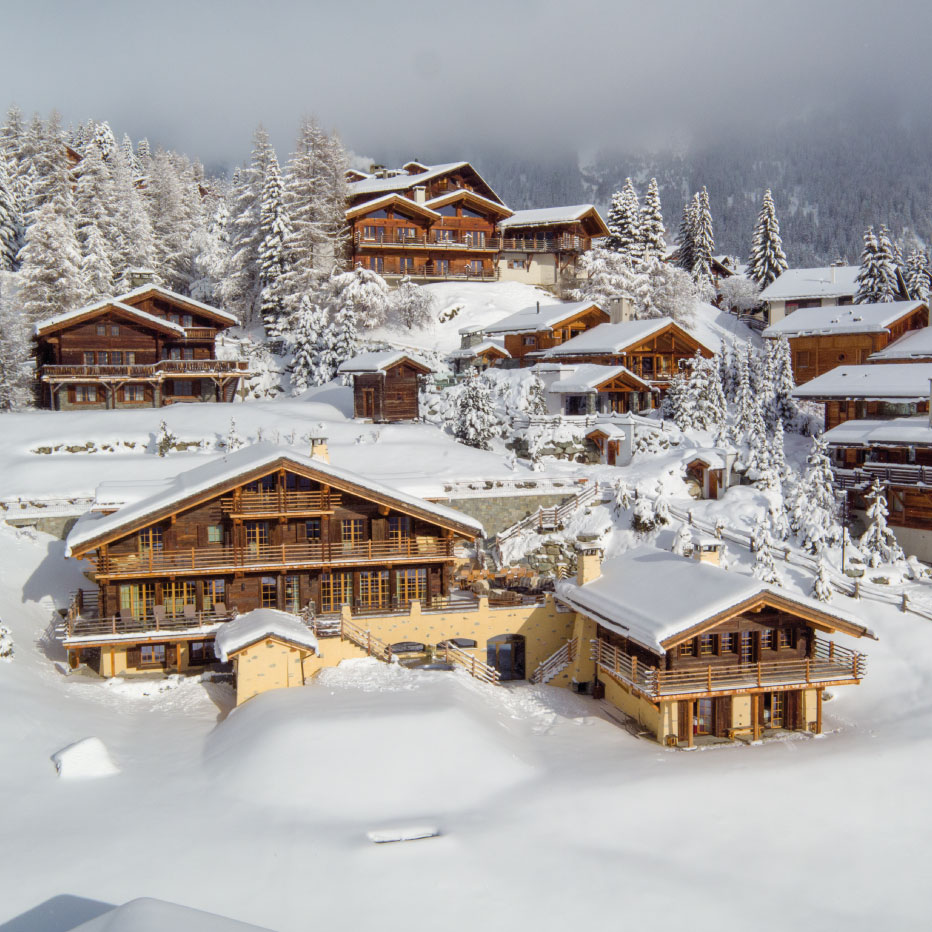 Luxury Ski Chalets in Verbier