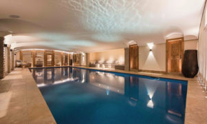 Chalet Chouqui Indoor Swimming Pool