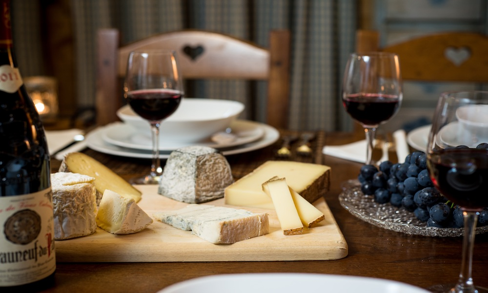 Catered Ski Chalet in Courchevel - Cheese and Wine