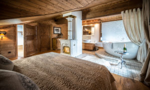 Chalet Hermine Master Bedroom - Courchevel 1850