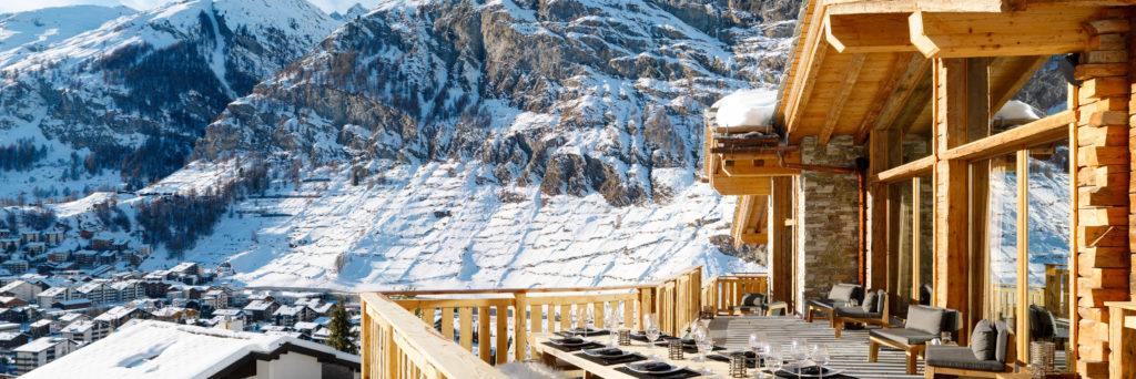 Chalet Les Anges, Zermatt - Stunning Sun Terrace with mountain views
