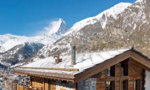 Chalet Maurice Exterior - Luxury Ski Chalet in Zermatt