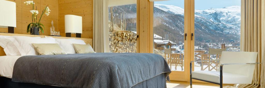 Chalet Maurice Zermatt Bedroom