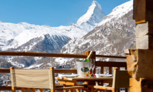 Chalet Maurice Terrace with Matterhorn Views