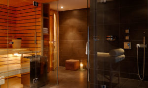 Spa Area at Chalet Maurice in Zermatt