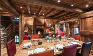 Luxury Catered Ski Chalet in Courchevel 1850 - Dining Table