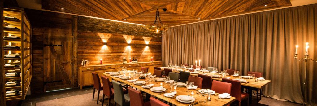 Montfort Dining Room - Set up for Group Dining