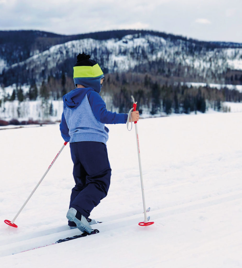 Family ski holidays with cross country skiing