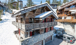 Chalet Chinchilla Exterior - Luxury Ski Chalet in Courchevel 1850 15% off