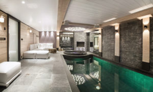 Chalet Colombe Indoor Swimming Pool