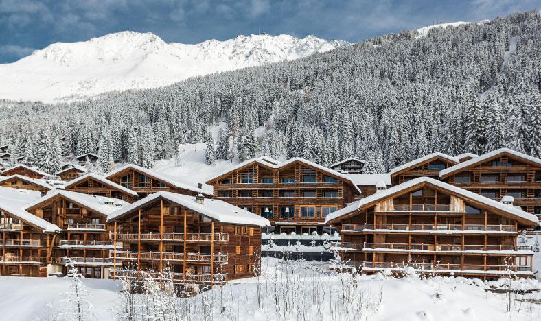 Luxury ski chalets in Verbier