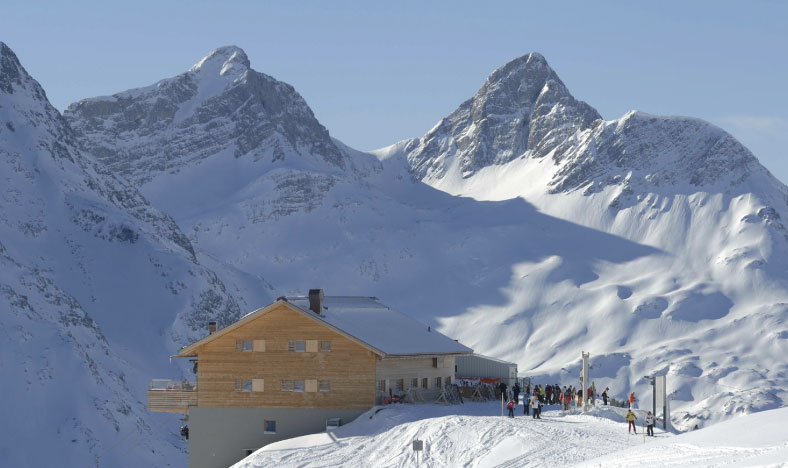 Luxury ski chalets in Lech