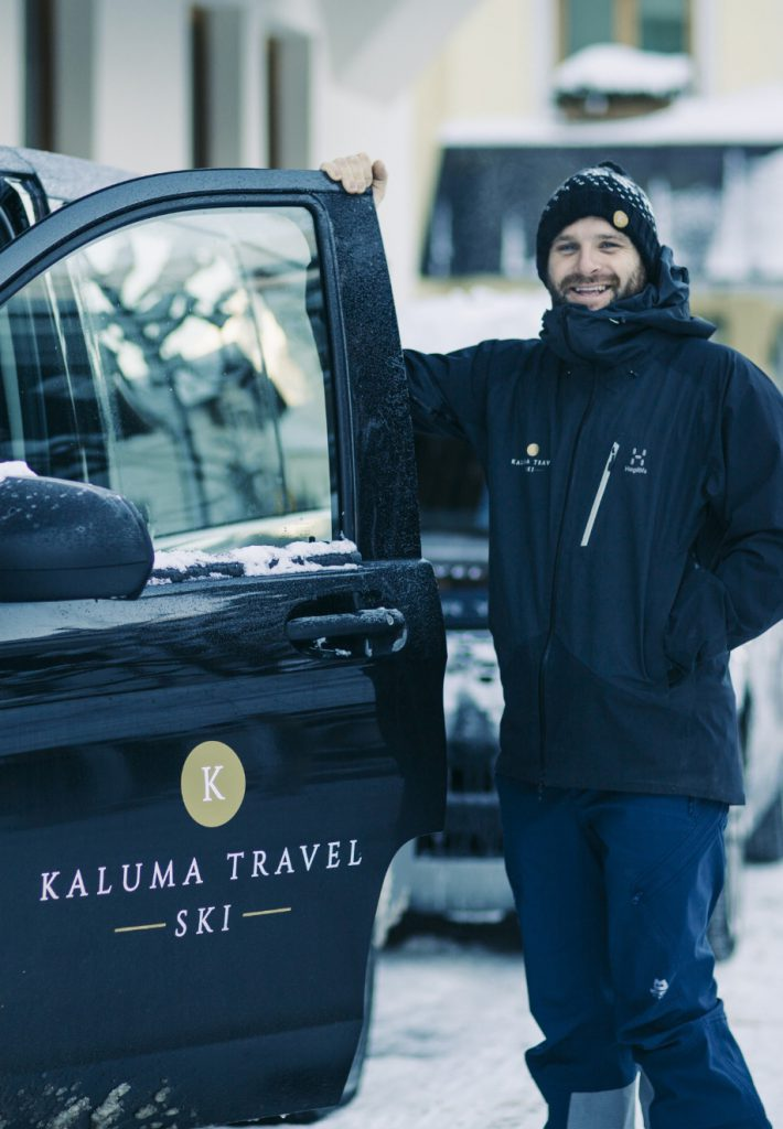Luxury Ski Chalets with driver service