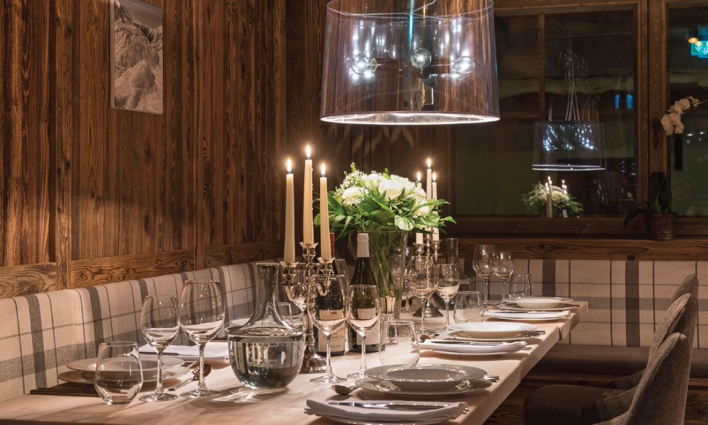 Eden Rock Restaurant - Luxury Catered Ski Chalet in St Anton