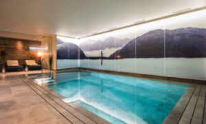 Eden Rock Swimming Pool - Catered Ski Chalets