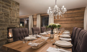 Chalet Kanzi Dining Room