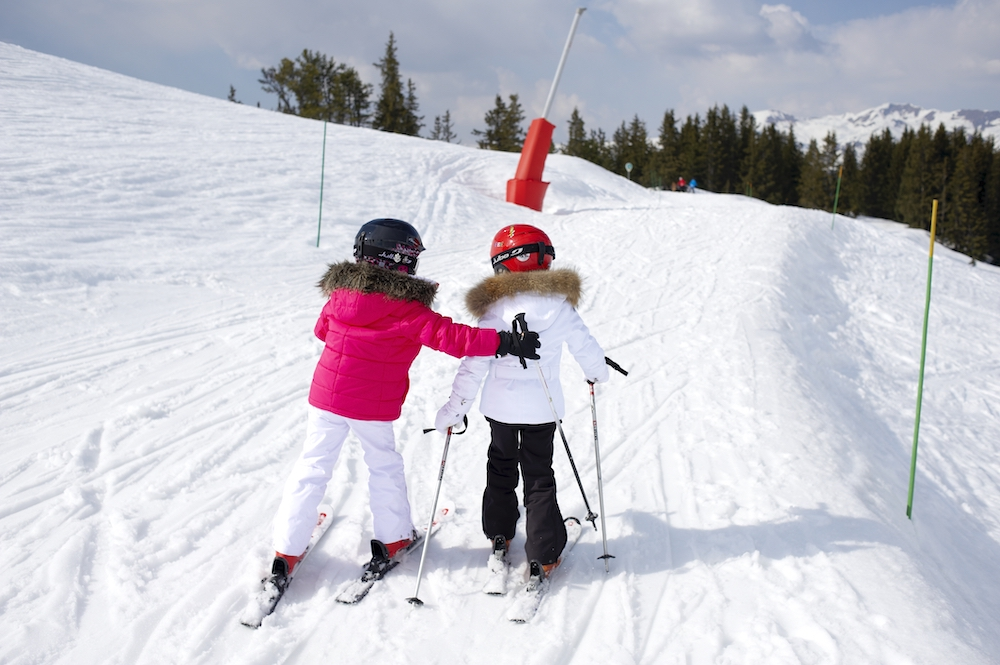 Family Skiing - Kids Ski School