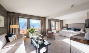 Bedroom at No. 14 Verbier