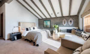 Master suite at No. 14 Verbier