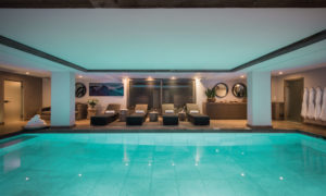Indoor swimming pool at No. 14 Verbier
