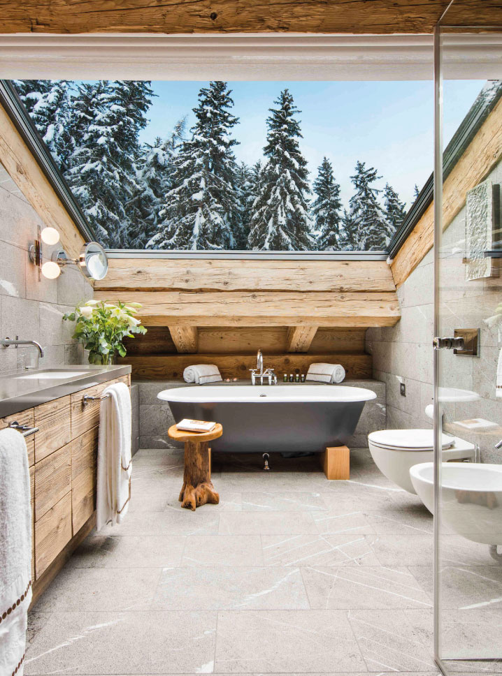 Chalet Place Blanche Bathroom