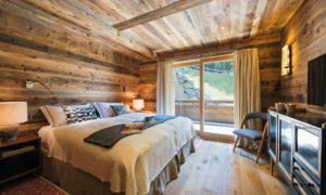Bedroom at Chalet Place Blanche