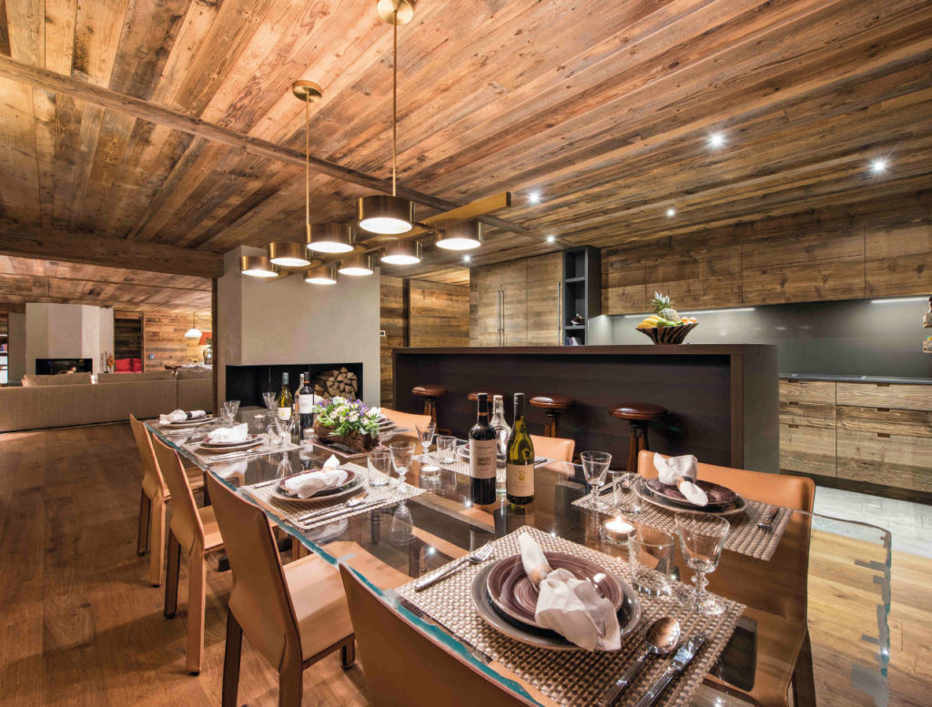 Luxury catered ski chalet in Verbier - Place Blanche