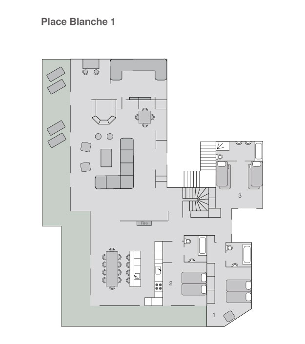 Place Blanche Floor Plan