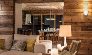 Chalet Place Blanche Verbier - Dining Room