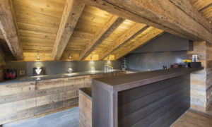 Kitchen at Place Blanche in Verbier