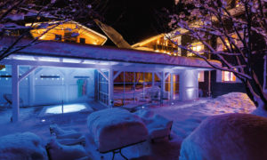 Sweet Little Home Outdoor Spa Area - St Anton Ski Chalet
