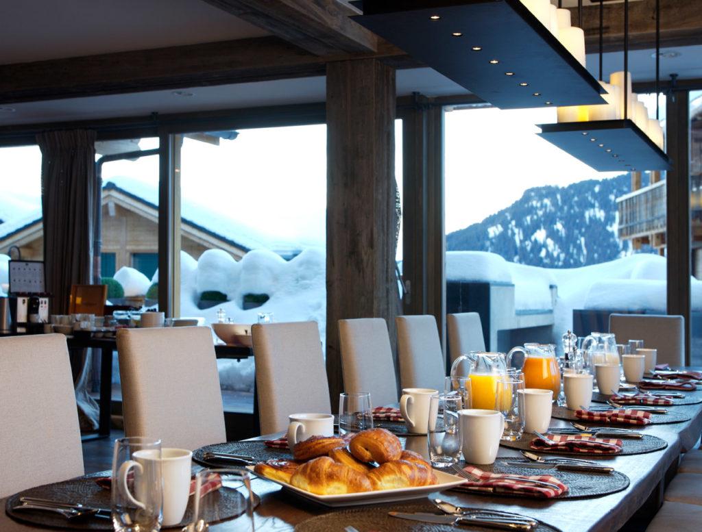 Verbier Lodge Breakfast - Luxury Catered Ski Chalet in Verbier